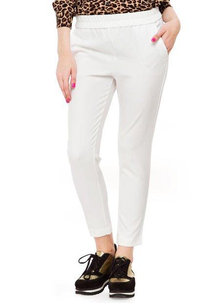 Pantalon Blanco Yagmour Boho Creppe
