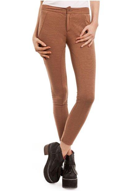 Pantalon Camel Yagmour Moto con Recortes