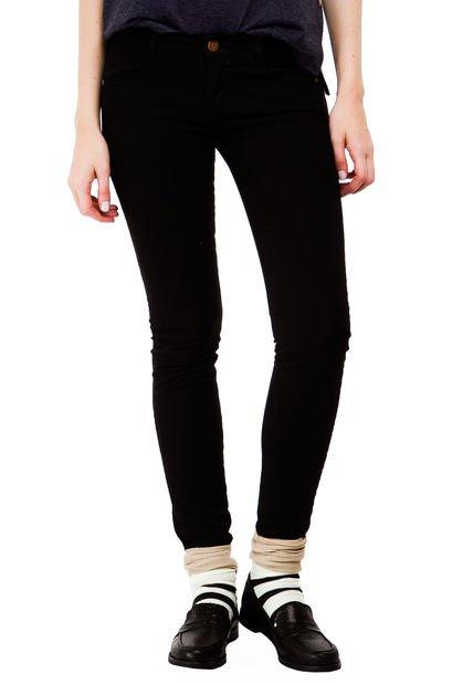 Pantalon Negro Yagmour Skinny