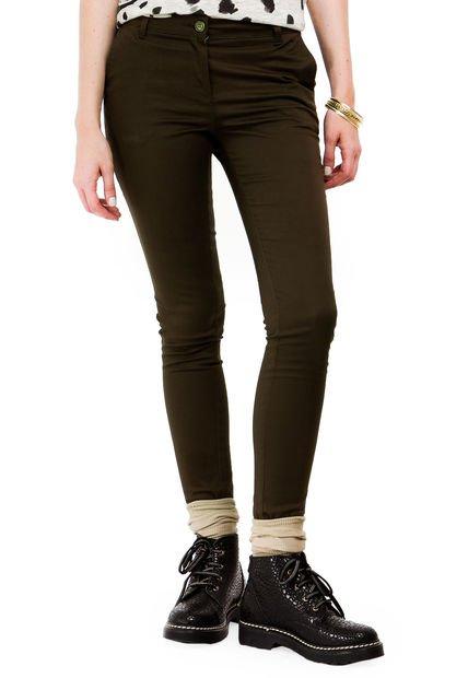 Pantalon Verde Yagmour Slim