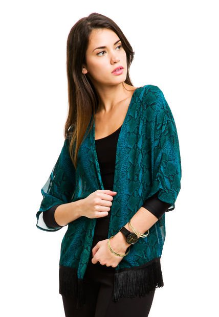 Kimono Verde Ytrio Alanis