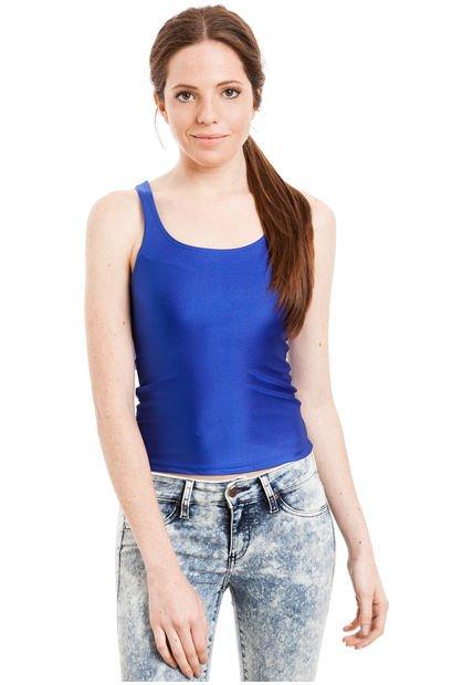 Musculosa Azul Ytrio Java
