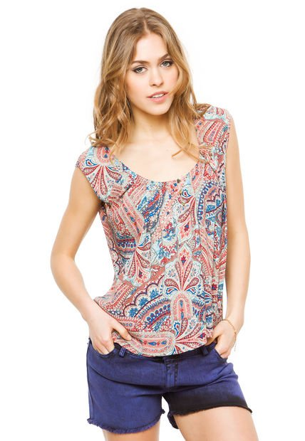 Musculosa Coral Ytrio Pineapple