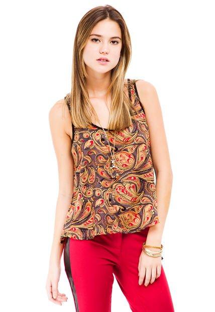 Blusa Multicolor Zhoue Clarissa