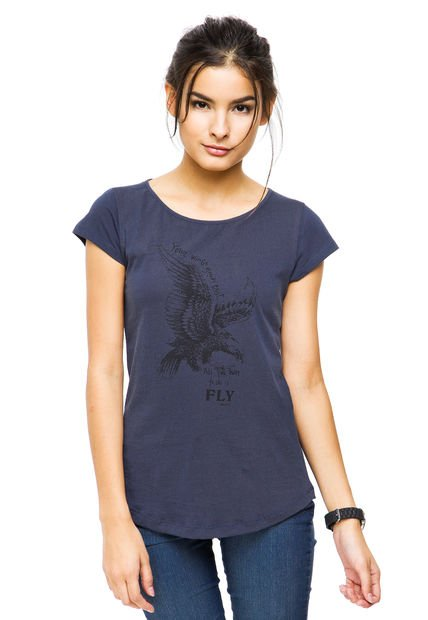 Remera Azul Zhoue Kelly