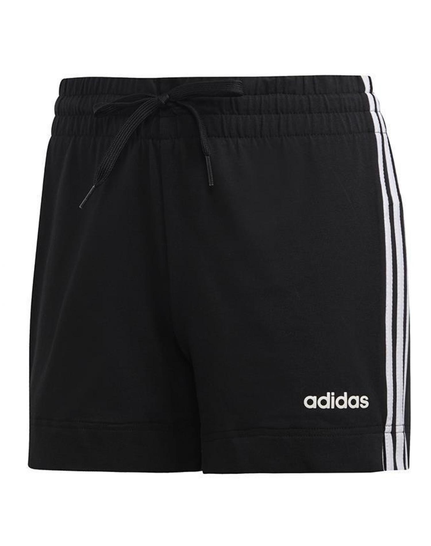 Short Negro Adidas W Essential 3 Stripes