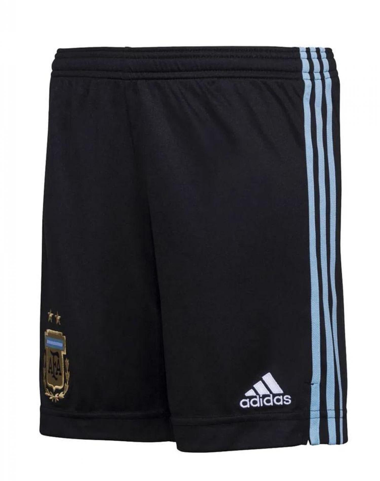 Short  Negro Adidas Titular Selección Argentina
