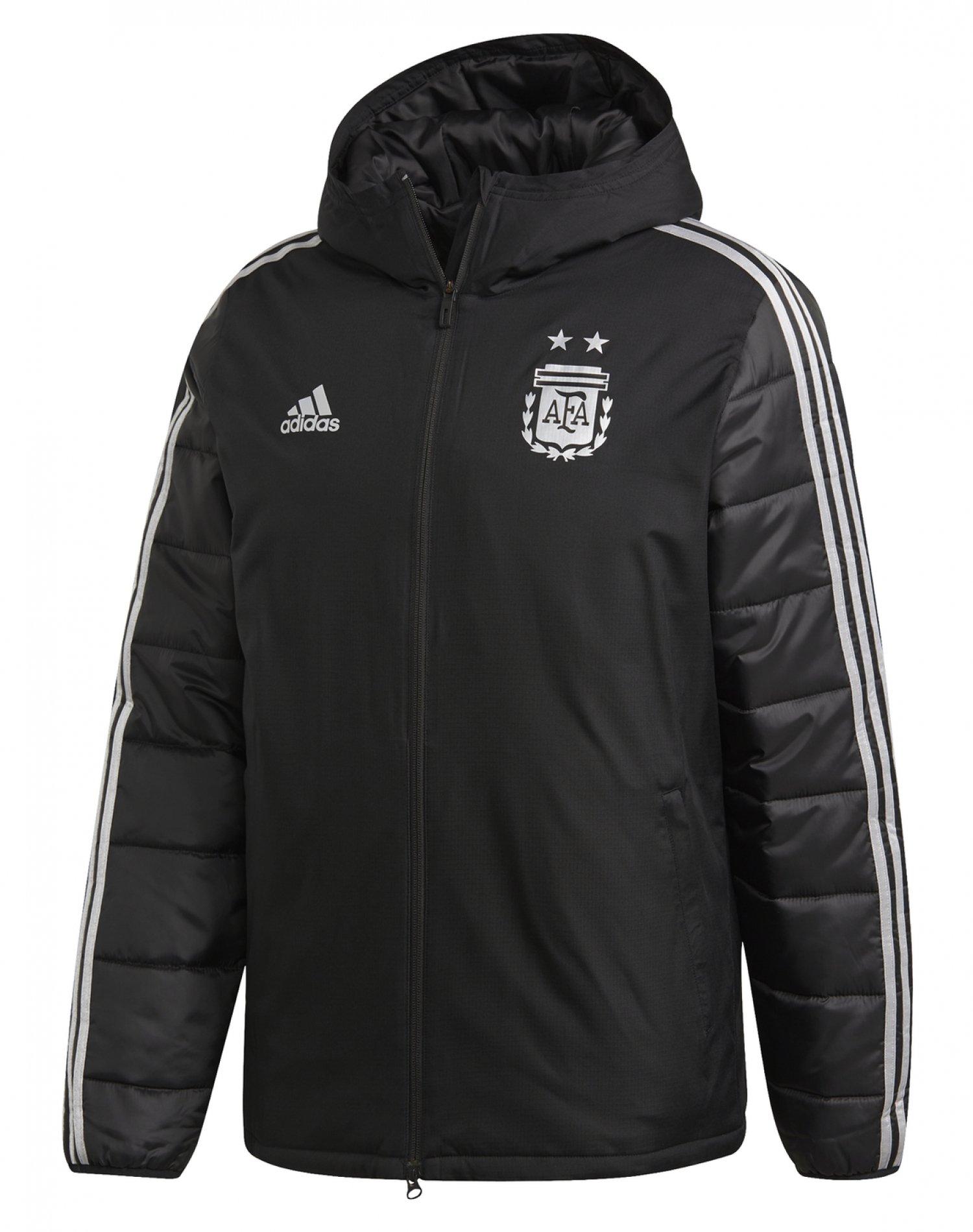 Campera Negra Adidas AFA