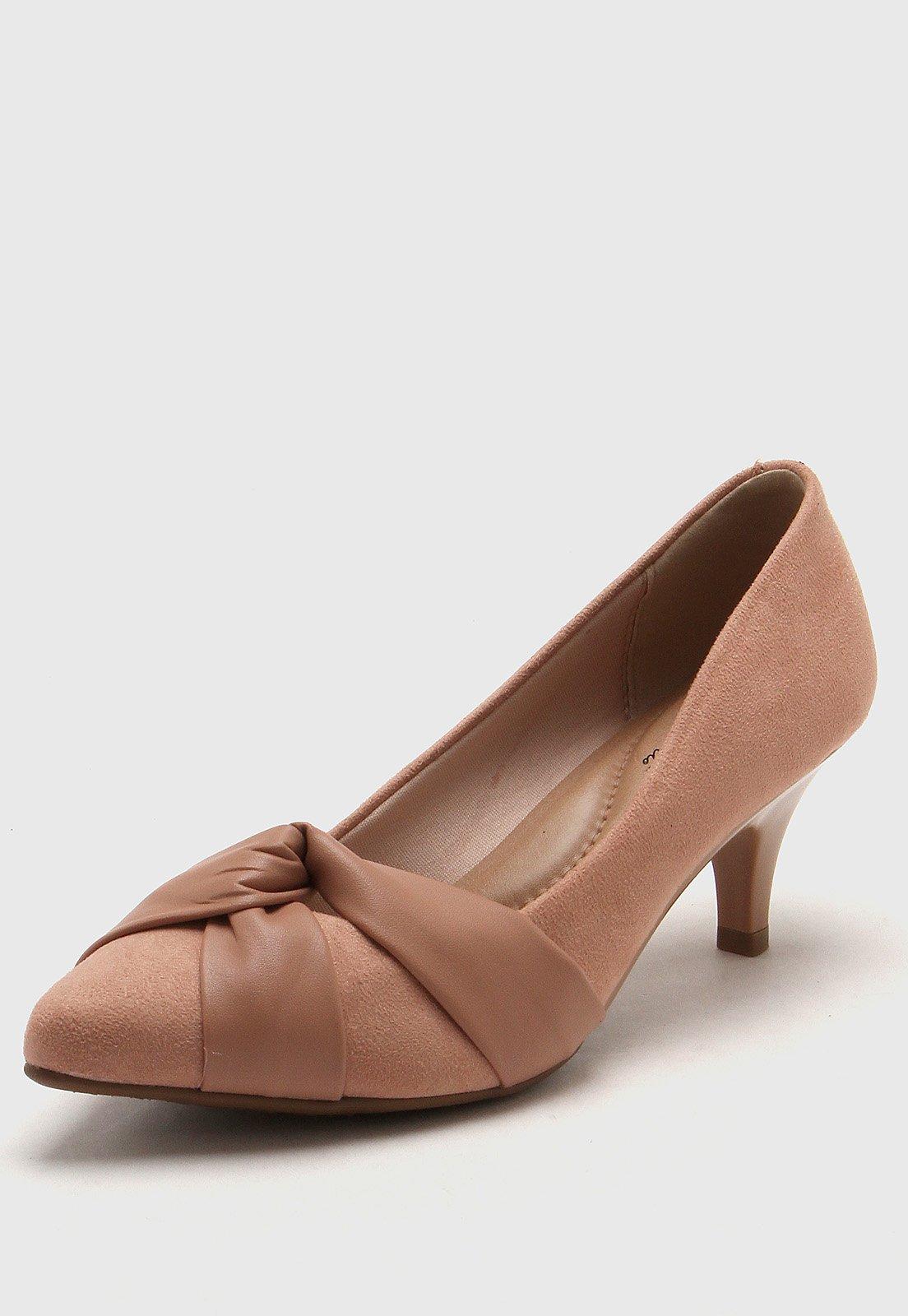 Zapato Nude Beira Rio