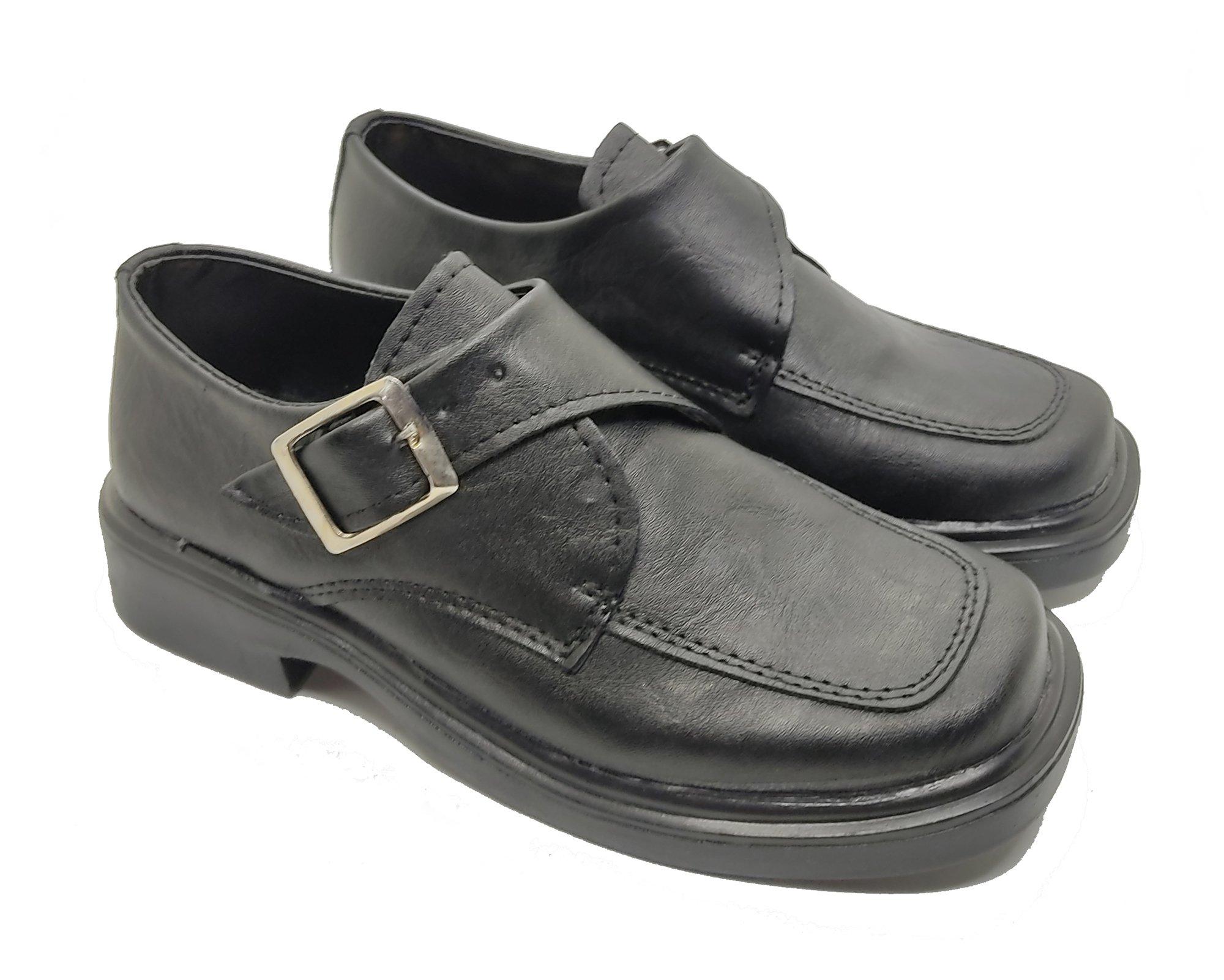 Zapato Negro Calfas Escolar