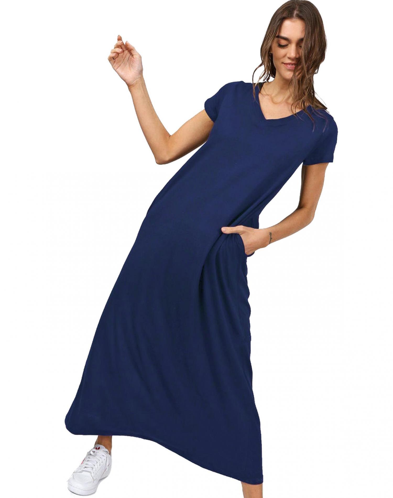 Vestido Azul Chelsea Market Lola Largo