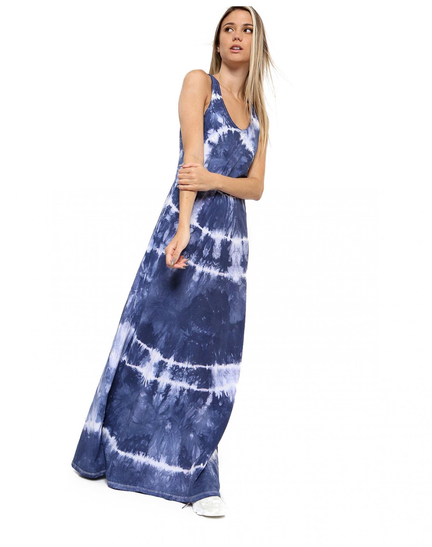 Vestido Azul Chelsea Market Batik Largo