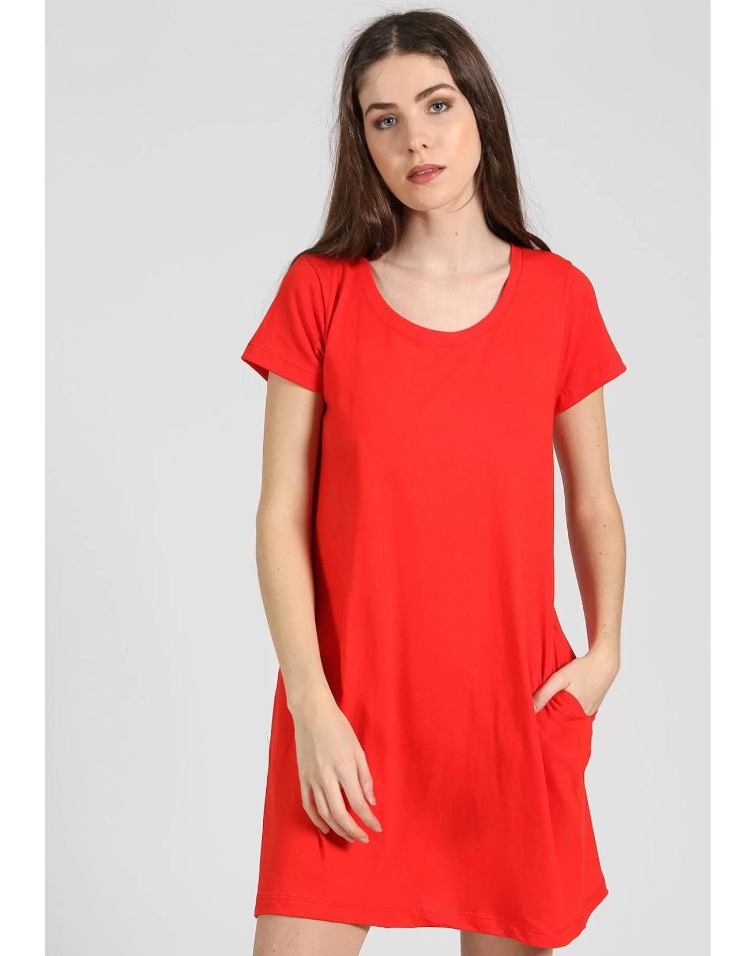 Vestido Rojo Chelsea Market Lolita Corto