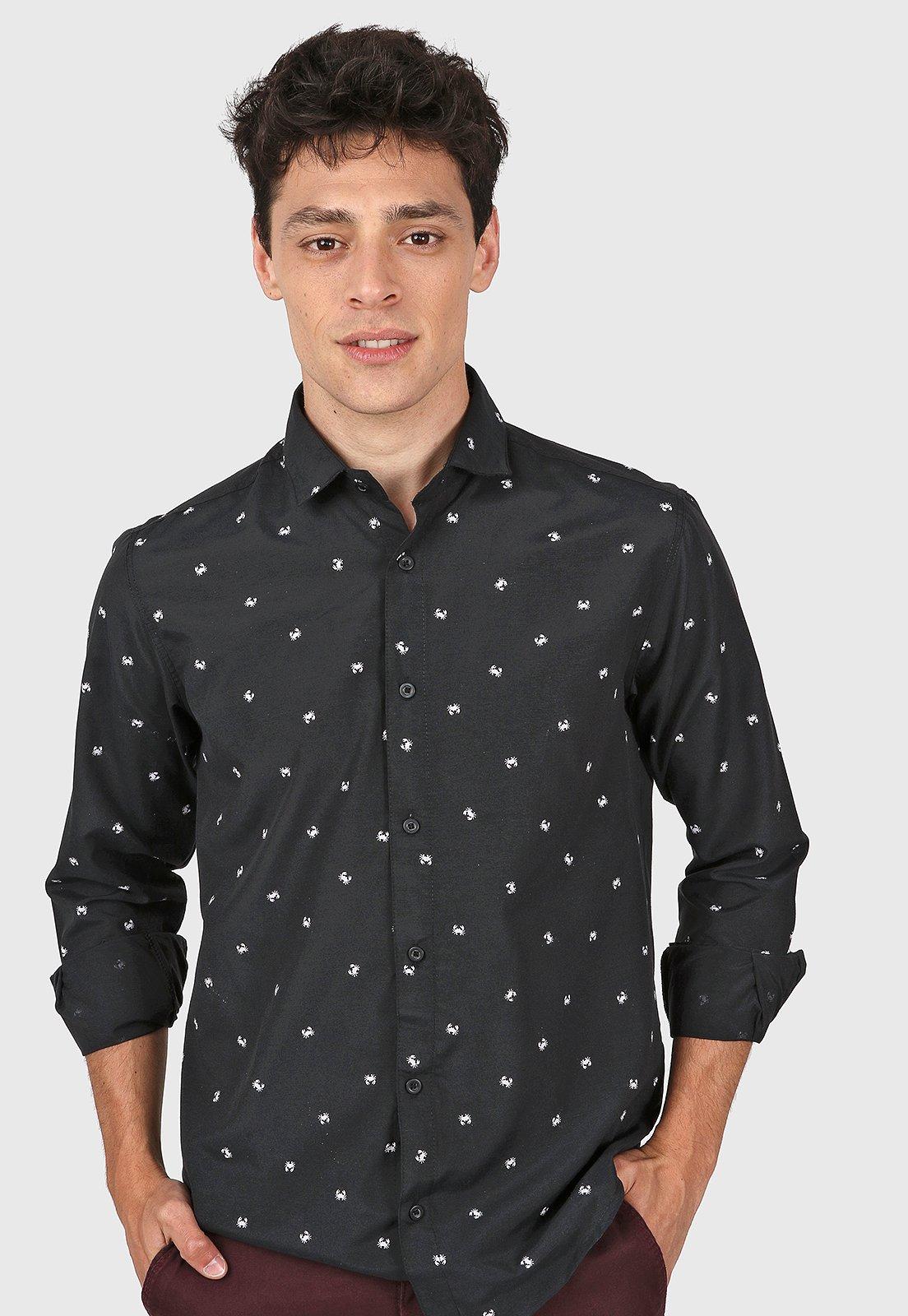 Camisa Negra El Genovés Granchio