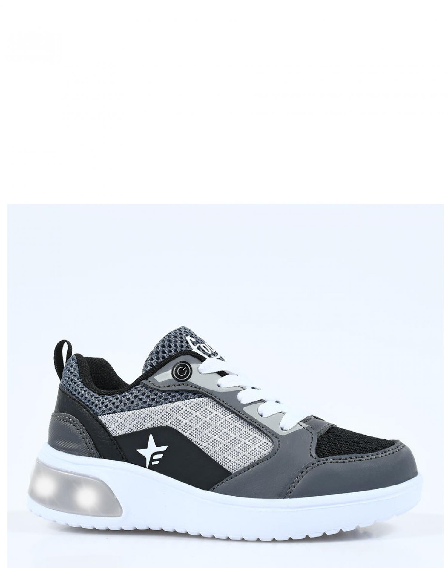 Zapatilla Gris Footy Urban Luces Funny Store