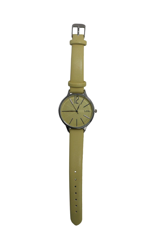 Reloj Amarillo Leblu