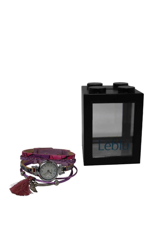 Reloj Rosa Leblu Pluma