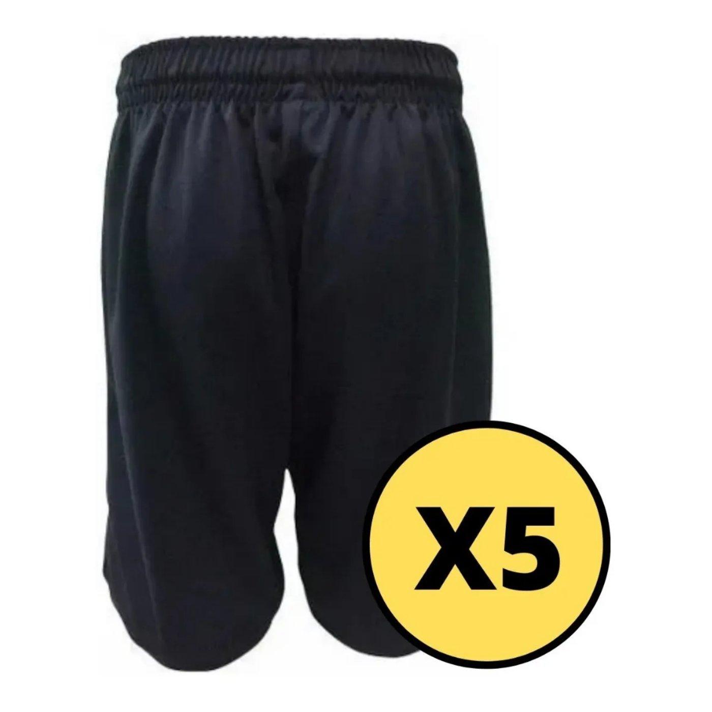 Pack de Shorts Negro Mezgo