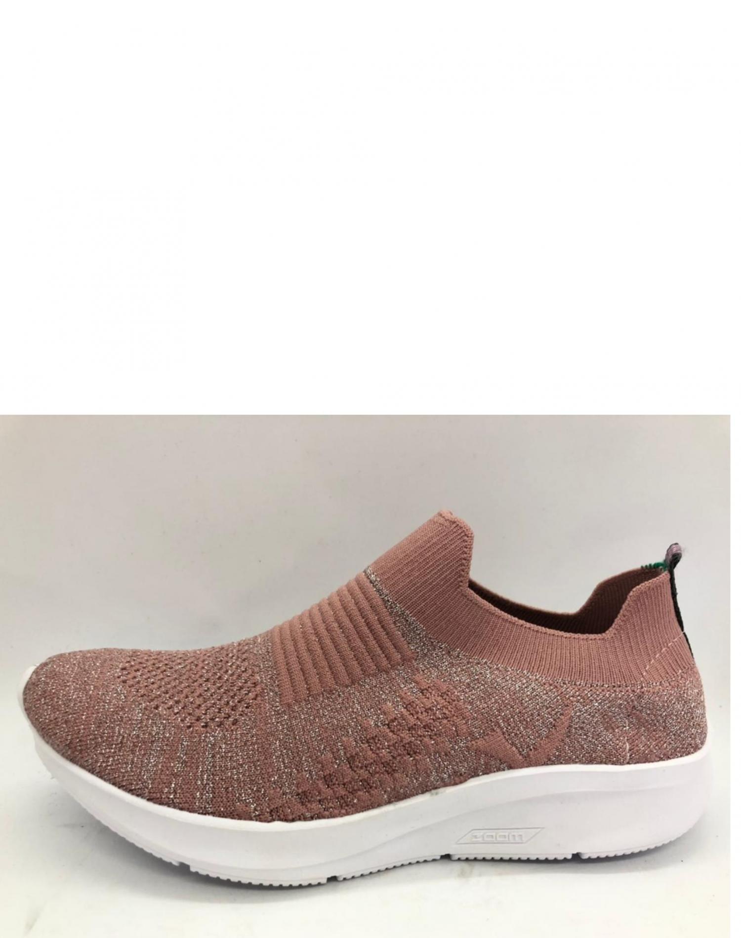 Zapatilla Rosa One Foot Lurex