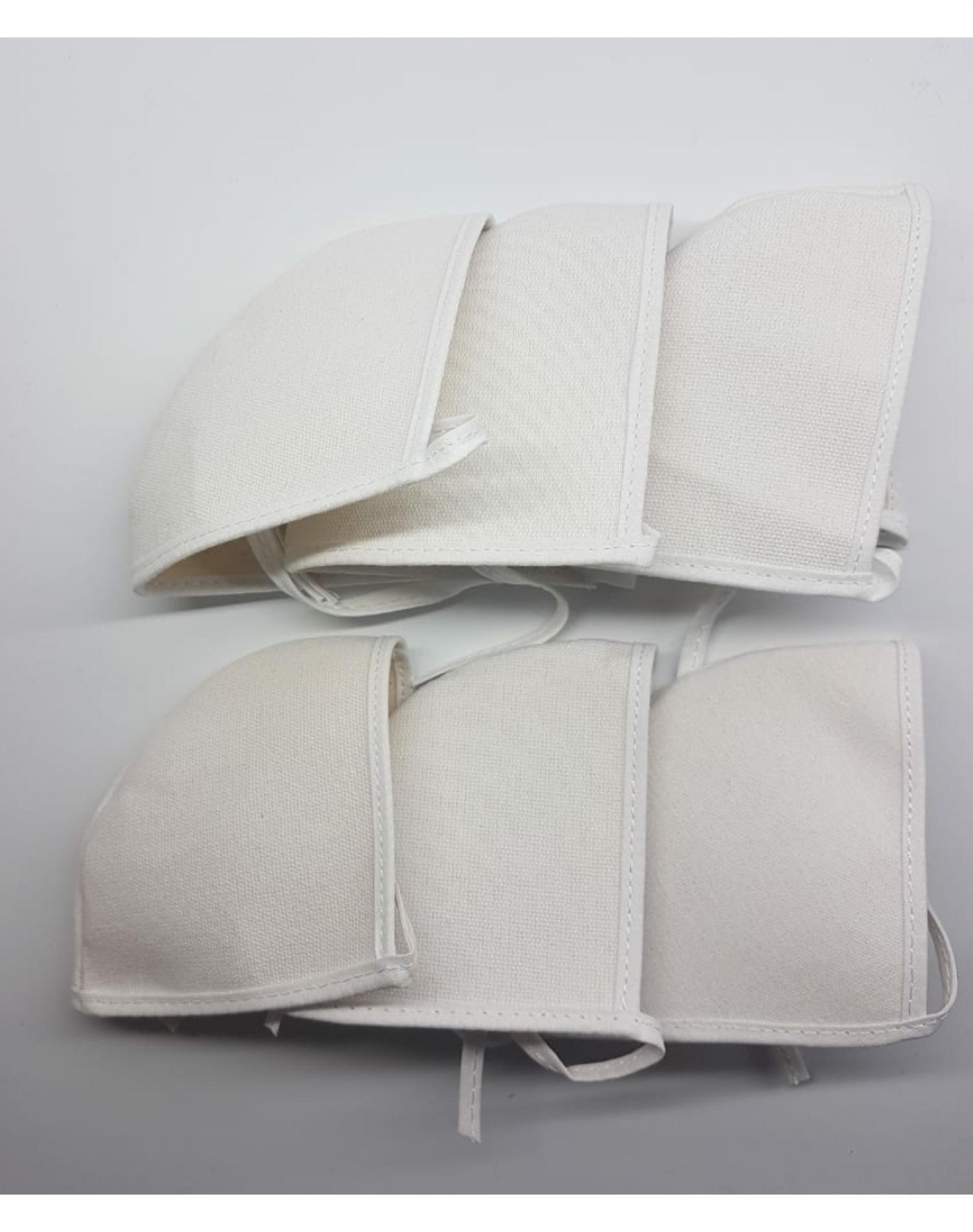 Pack de Tapabocas Blanco Roi x 6