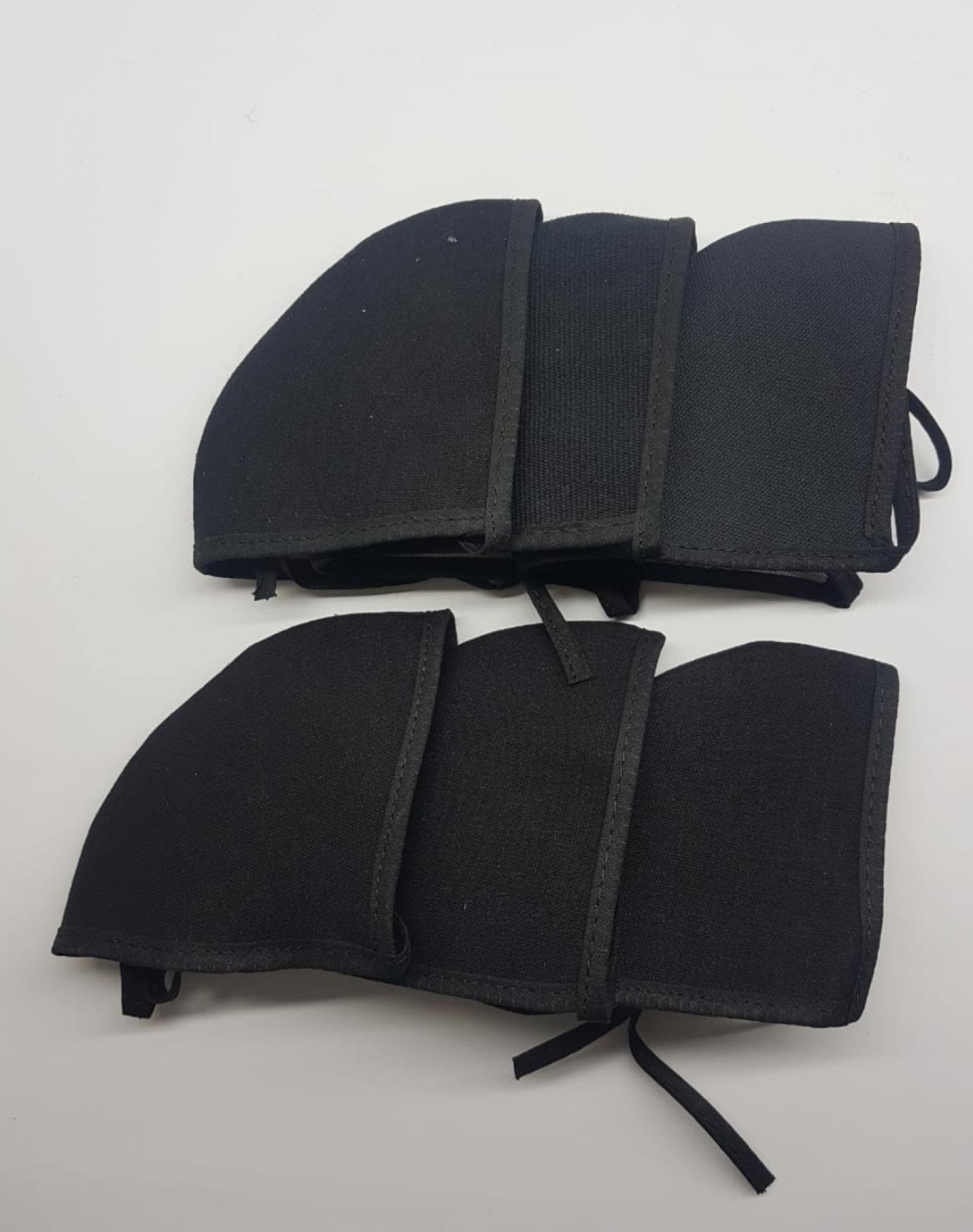 Pack de Tapabocas Negro Roi x 6