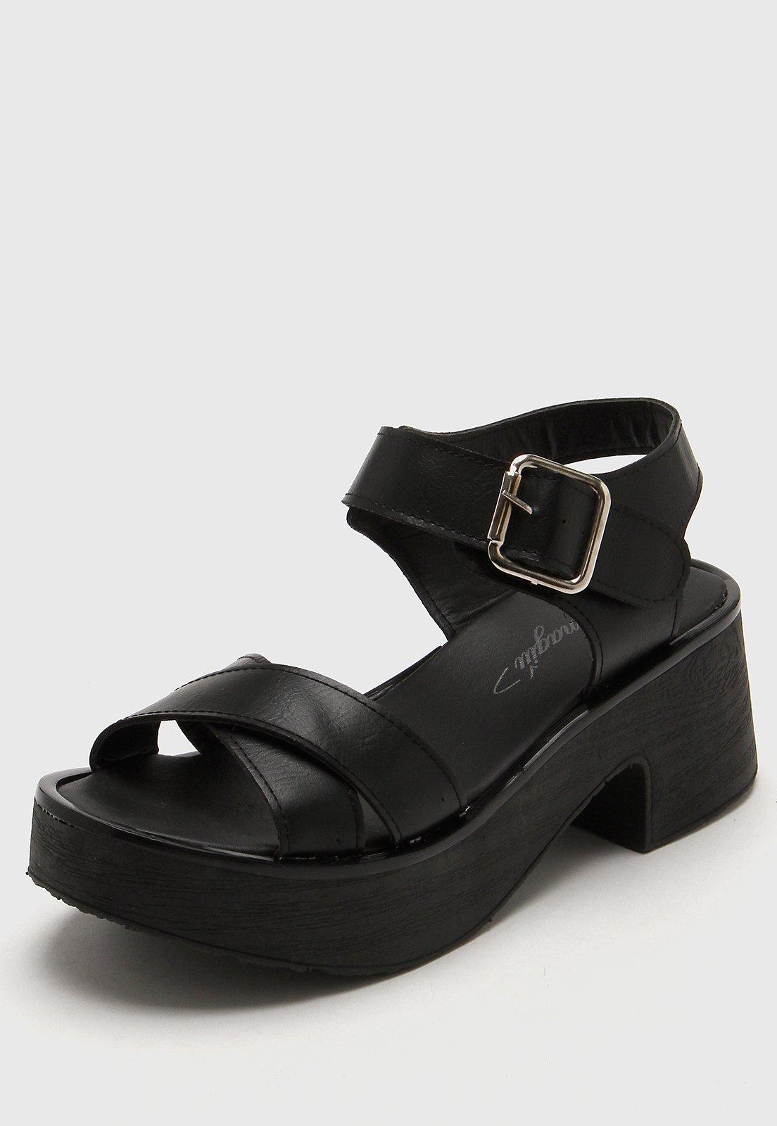 Sandalia Negra Tamagiu