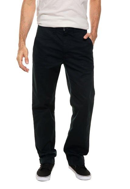 Pantalón Negro Vans Authentic Chino Pro