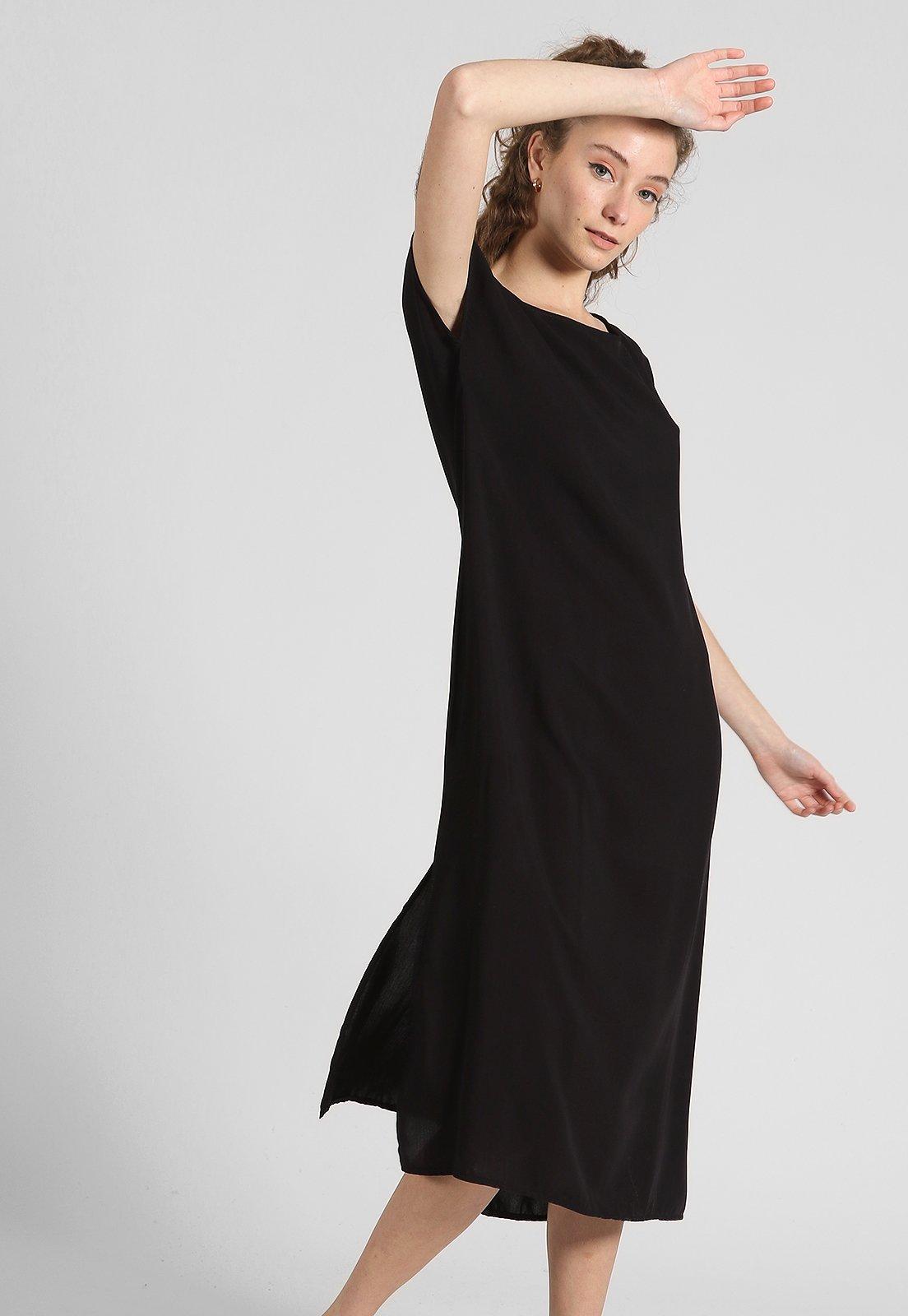 Vestido Negro Vespertine.