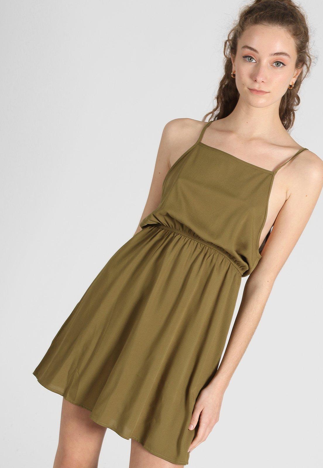 Vestido Verde Vespertine.