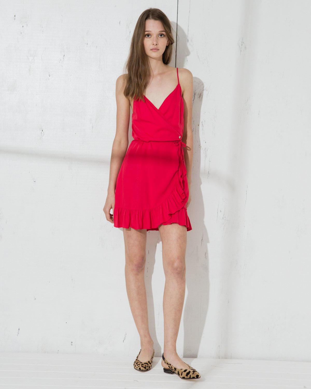 Vestido Rojo Wanama  Amaro Soft