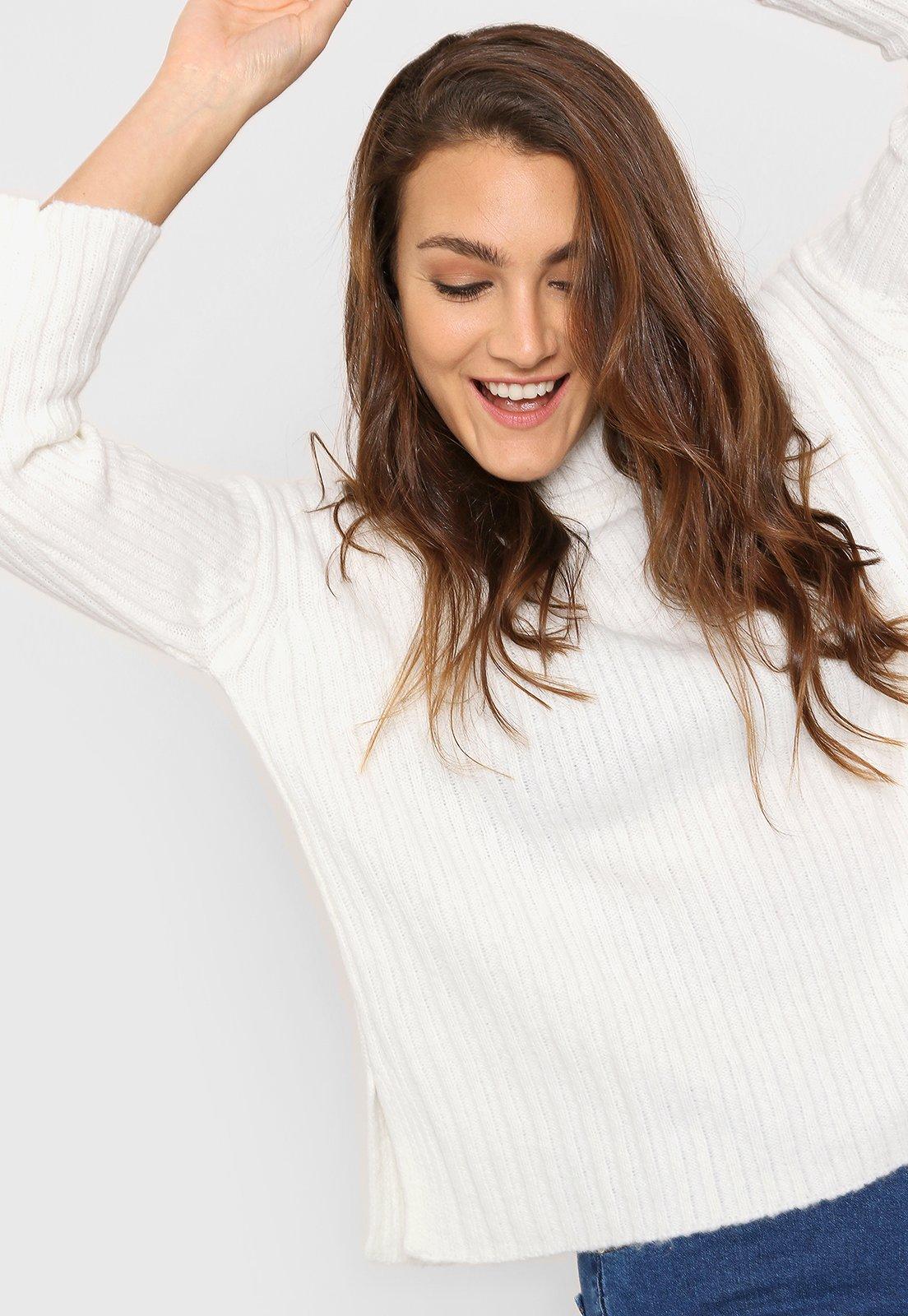 Sweater Blanco Wanama Sophia