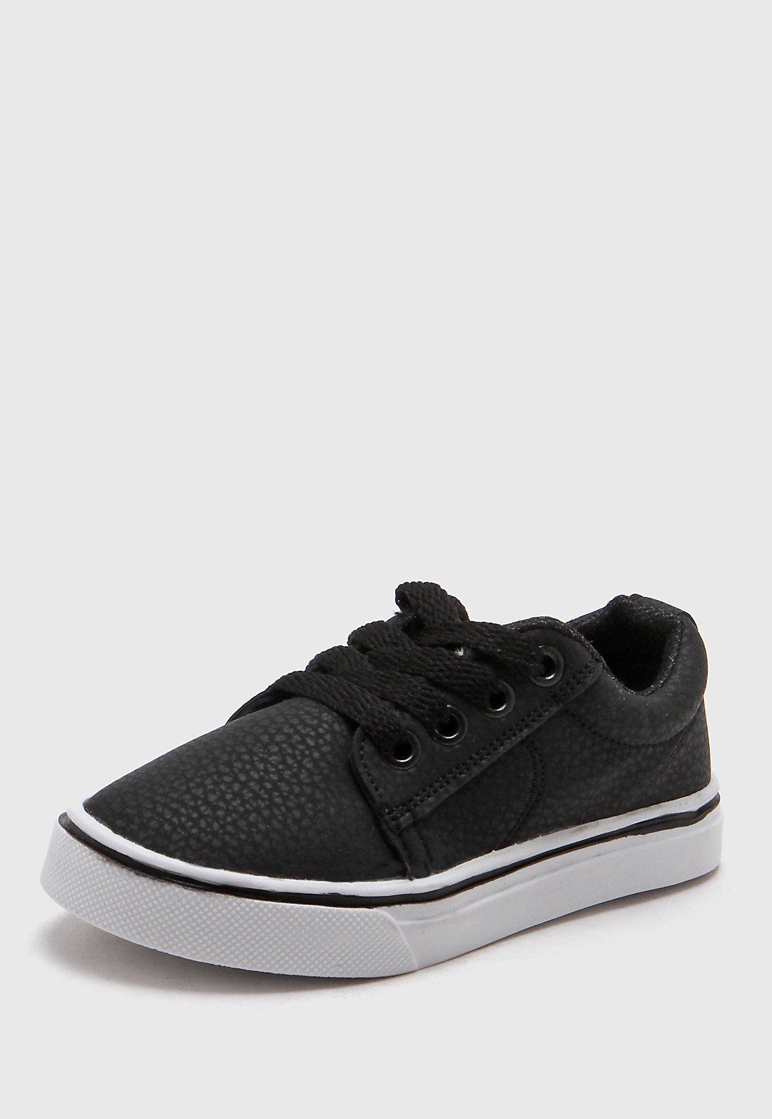 Zapatillas Negra Wees Kids